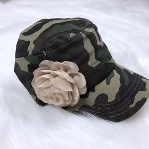Pugs Gear Hat Military Cadet Women's Camouflage
